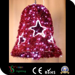 Campanas de Navidad LED Luz Motif