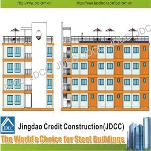 Estructura de acero de la luz de bajo coste Multi-Storey Edificio de Apartamentos para estudiantes