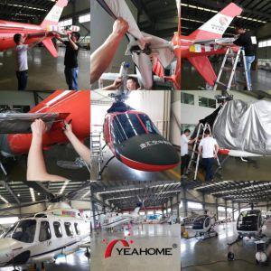 上塗を施してある終了する物質的な全天候用保護はヘリコプターカバーをカバーする