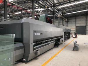 Timbery Electric énergie de rayonnement de l'enregistrement système de recyclage de chauffage par convection avec pass-Section de la machine de verre 3000*8000 mm