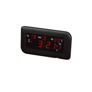 安いカスタムカラースクリーンLEDデジタルの柱時計