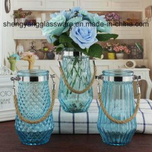 熱い販売法のスプレーカラーシリンダー形の花ガラスのつぼ
