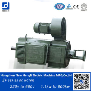 Nuevo Hengli 450KW motor DC de 600 V.
