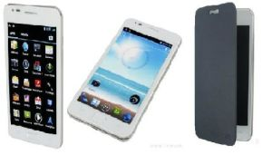 Android 4.0, 3G (WCDMA) +GSM, 5.3inch WVGA Емкостный Multi-Touch Smart на экране мобильного телефона