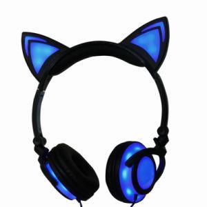 LEDライト白熱猫耳のヘッドホーンの熱い販売の新しい昇進の進水させた製品