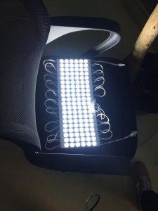 Новый AC220V света высокой мощности для поверхностного монтажа 3.8W 2835 светодиодный модуль системы впрыска с объективом