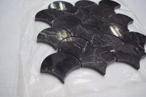 Scala di pesci del mosaico di shap emperador mattonelle mosaico