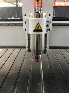 3D Alumnium MDF relevo acrílico Metal Máquina de gravura do CNC