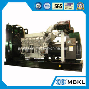 Generatore diesel originale del motore 1360kw/1700kVA del Giappone Mitsubishi di nuovo disegno di alta qualità da vendere S16r-Pta