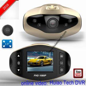 De hete Camera van de Zwarte doos van de Auto 1.5inch 1.3mega Volledige HD 1080P met de AchterAuto DVR, g-Sensor, de Visie van de Nacht, het Parkeren Videorecorder van de Mening Novatek van het Streepje van de Auto van de Controle de Digitale