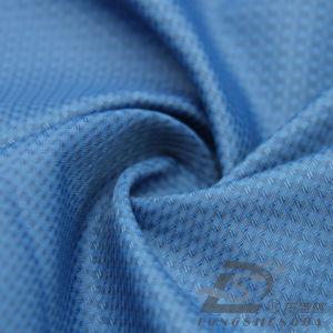 50d 310t tecidos Plaid 100% poliéster Jacquard Pongées Fabric (BN53217Y)