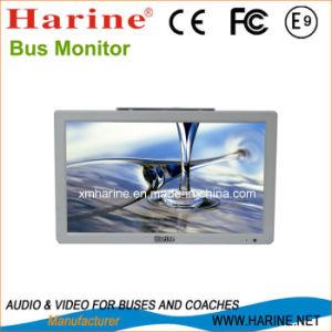 Bus Monitor LCD de 15,6 pulgadas reproductor de video advertising