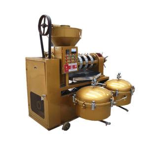 Le sésame de soja d'arachide automatique moulin à huile avec filtre