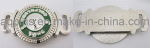 Soft Enemal marcador de uma bola de golfe Hat Encaixar /Lace Clip (AE-039/040)