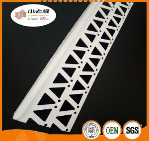 Cordão de parede Canto revestido de PVC/Plástico Cordão de canto da parede de gesso