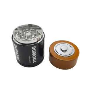 Smerigliatrice di erbe del reticolo di figura della batteria dell'acciaio inossidabile del metallo