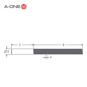 Un-un bajo precio del cobre de alta calidad de electrodos de tungsteno Threades (3A-300061)
