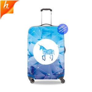 Синий Unicorn шаблон настраиваемые теги багажного отделения Cool защиты двери багажного отделения