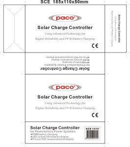 Nuovo regolatore solare solare del regolatore 12V 15A della carica di Arrvials PWM