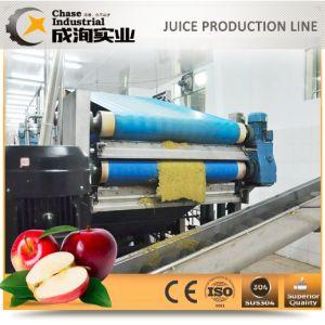Completa linha de processamento da Apple produzir o suco de maçã