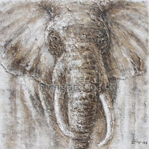 Artesanato Pintura Animal para Elephant