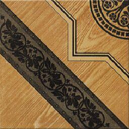 四分の一陶磁器の床タイル