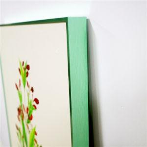 木の写真フレームカラーペンキの額縁の製造業者は卸し売りする