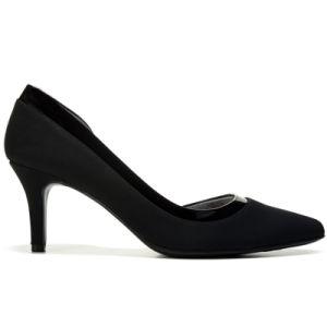 Chaussures femmes PU Semelle en caoutchouc supérieur Lady Chaussures Daliy
