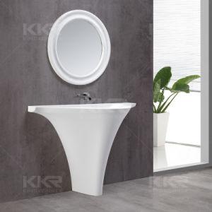Socle en pierre blanche de design italien lavabo
