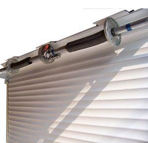 電流を通された高品質のローラーシャッタードアのばねボックス、シャッターゲートプーリー、ガレージのドアの車輪