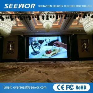 P6.25mm fixe haute résolution à l'intérieur d'affichage vidéo LED