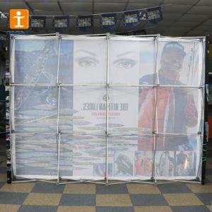 Ausstellung-Gewebe-Hintergrund-Partition-Rückseiten-Wand-Bildschirmanzeige