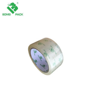 Adhesivo acrílico Water-Based adhesiva fuerte super clara la cinta de embalaje