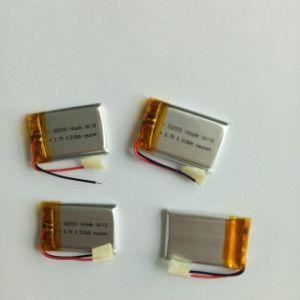Pequeño tamaño de 120mAh 3.7V 140mAh batería de polímero de litio 302030 para GPS Tracker