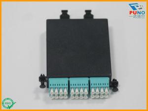24 núcleos MPO MTP LC Módulo cargado Patch Panel Cassette