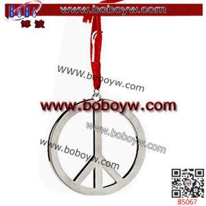 Decorazione di cristallo della casa di cerimonia nuziale di compleanno dell'ornamento dell'albero di Natale del cuore degli elementi del partito (B5063)