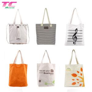 관례에 의하여 인쇄되는 로고 Eco-Friendly 까만 끈달린 가방, 큰 재사용할 수 있는 쇼핑 백