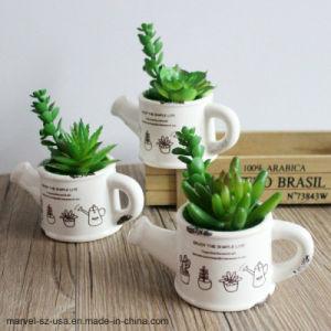 Чайник форма Flower Pot искусственного сочные завод искусственного выращивания бонсай
