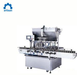 Frasco de vidro e Pop máquinas de enchimento pode molho espesso máquina de enchimento