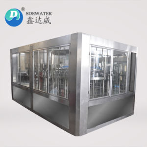 prezzo puro dell'impianto di imbottigliamento dell'acqua minerale di 6000b/H 500ml