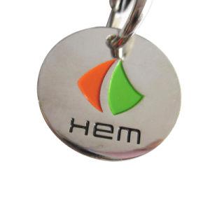 Carrinho de ferro atingiu morrem promocionais Moeda Token com o logotipo personalizado (002)