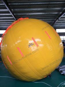 Teste de carga da grua sacos de peso com água