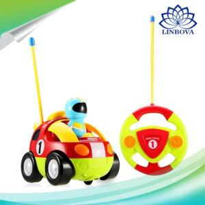 Los niños de dibujos animados del mando a distancia carrera de autos Alquiler de Doraemon juguetes de bebés La música de Radio Control de Automoción Coche RC