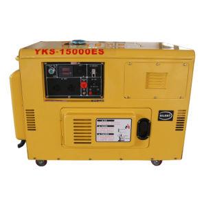 AC単一フェーズの無声携帯用ディーゼル10kVA発電機の価格