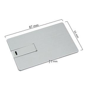 Рекламные Сувениры белый кредитной карты флэш-накопитель USB дисков 2 гб 4 гб 8 гб 16ГБ 32ГБ 64ГБ 128 ГБ