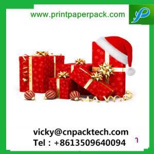 Luxuxspitzenpapierverpackenkasten-kundenspezifisches Fessel-Kasten-Farbband-Geschenk-verpackenkasten