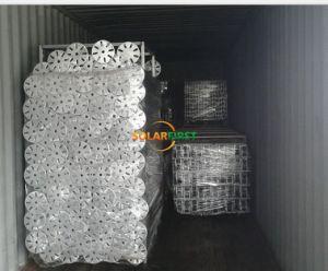 Galvanizado en caliente la estructura de fijación de tornillo de masa solar
