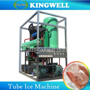 Grande capacité Kingwell 10tonnes/jour Tube transparent Machine à glaçons de machines