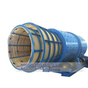 고무 안대기 회전하는 드럼 수세미 세척 회전식 원통의 체