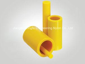 Tubo di plastica del nylon del rullo del trasportatore di coefficente basso di attrito